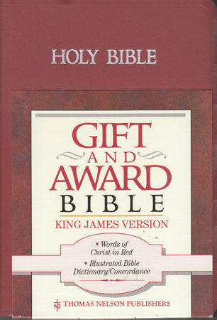 Библия: Holy Bible: Gift and Award Bible (King James Version) (код 157)