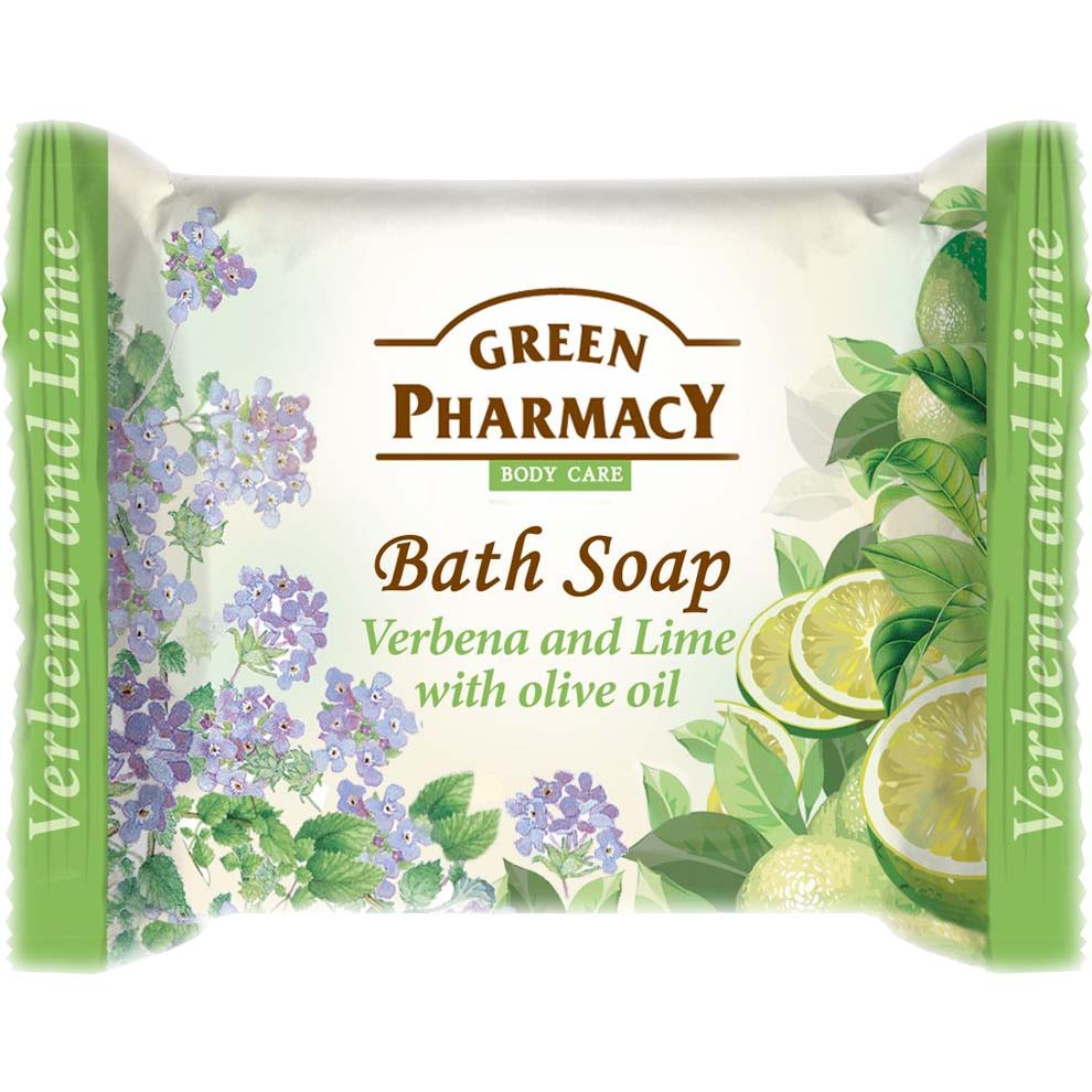 Bath soap VERBENA and LIME with olive oil /Туалетное мыло Вербена и лайм с оливковым маслом  100g