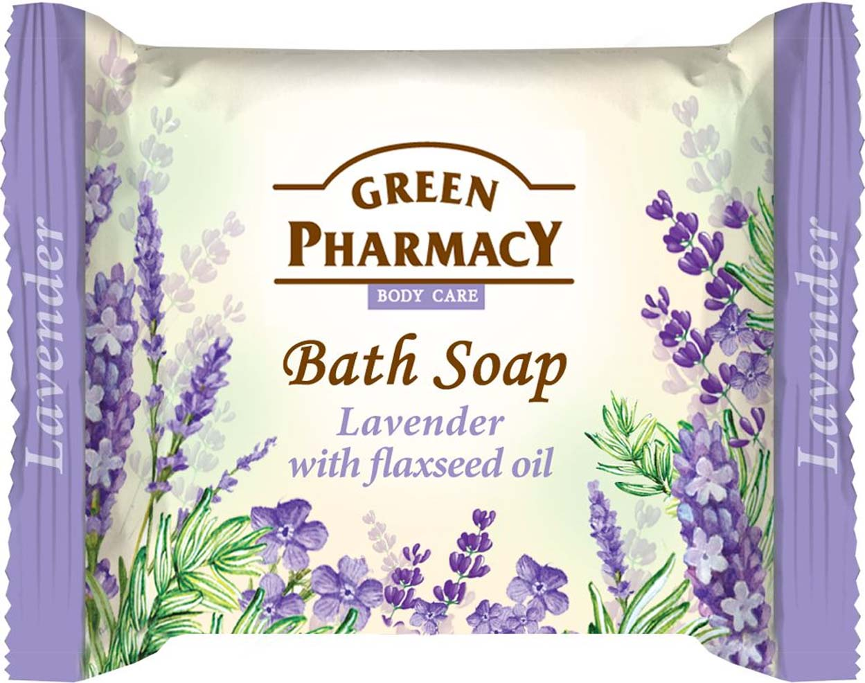 Bath soap Lavander with flaxseed oil /Туалетное мыло Лаванда и льняное масло100g