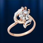 Бриллиант Кольцо золотое